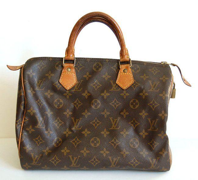 How to refurbish a canvas and vachetta leather Louis Vuitton bag ... 5e9441bd86f7c