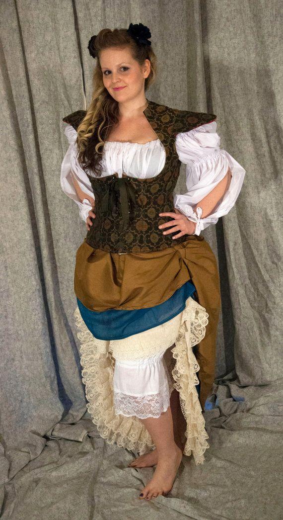 Woman's Peasant Pirate Wench Rennaissance by OpenPandorasCloset