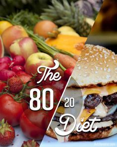 My diet secrets & why I follow the 80/20 Diet
