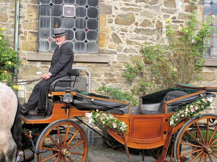 Die Hochzeitskutsche vom Höllerhof