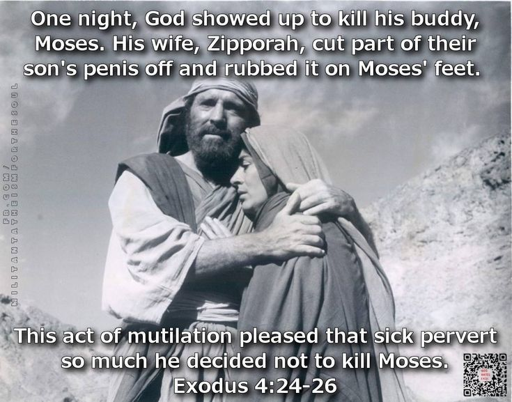 The god of the bible is one bloody egotistical perverted prick, ain't it?