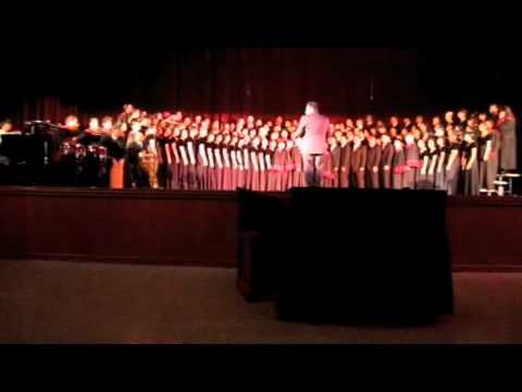 Ayala High School Choir sings ¡Cantar! arr. Jay Althouse  - YouTube