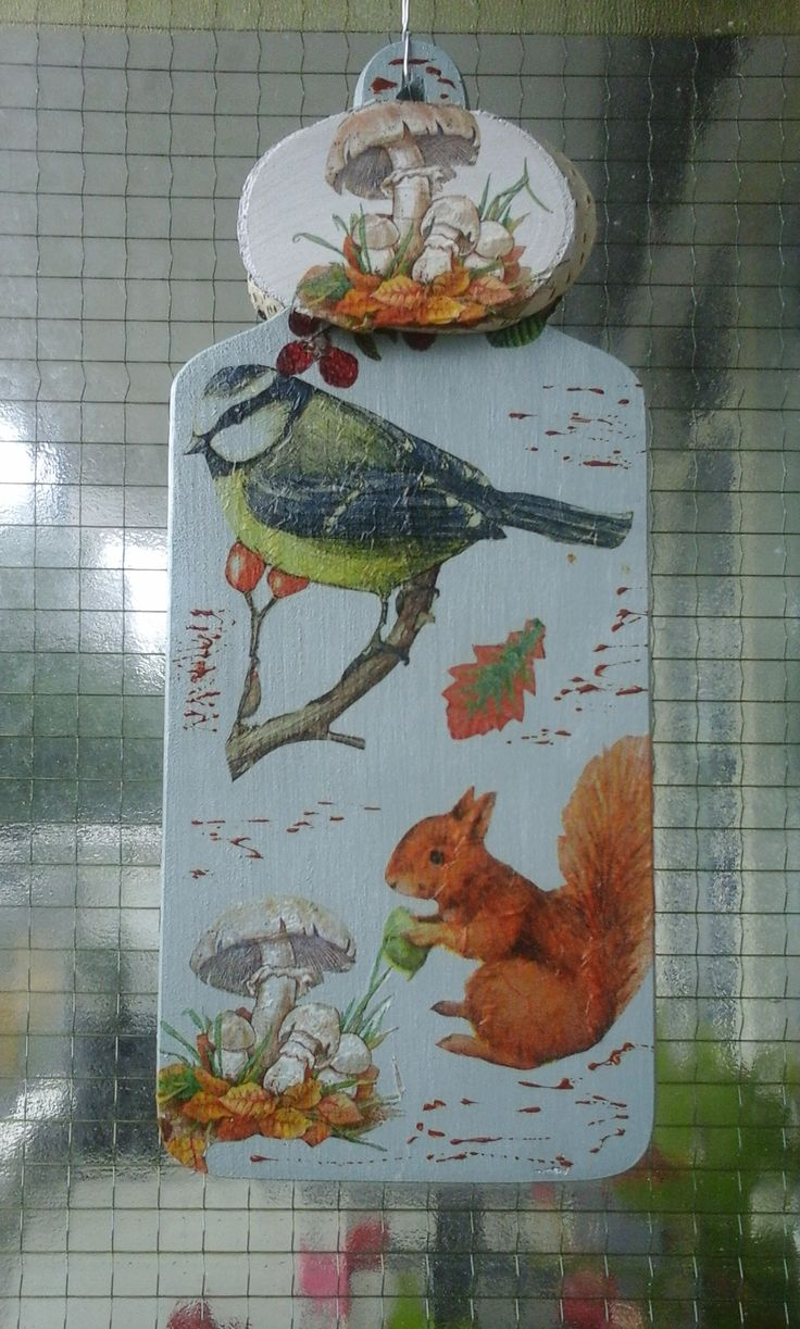 decoupage, home made