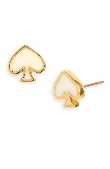 kate spade new york 'spade to spade' mini stud earrings - Nordstromith love these as i'm obsessed with kate spade again
