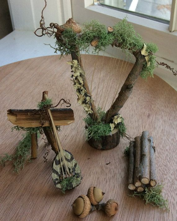 Fairy's Work by Olive Miniatures Fairy Instruments