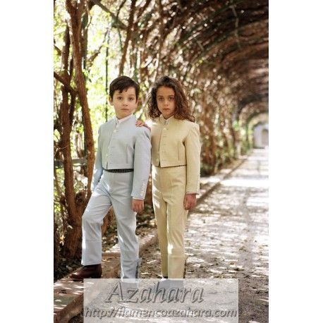#Traje #campero unisex formado por chaqueta, chaleco y calzona. Posibilidad de realizar por encargo en todas las tallas