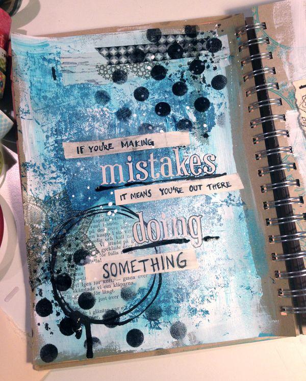 Art journal: Mistakes by Anna Maria Nilsson