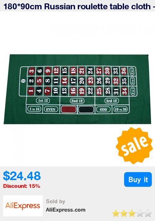 180*90cm Russian roulette table cloth - poker table cloth - Roulette table mat - Non-woven cloth 500g Good quality * Pub Date: 11:26 Apr 15 2017