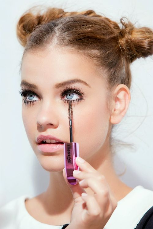 Long Lashes. Barabara Palvin for L'Oreal Paris, Miss Manga Mascara 2014.