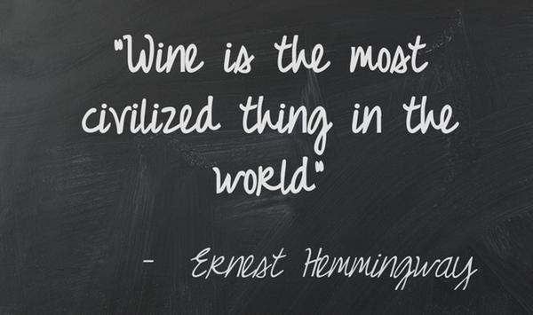 Wine = Civilized (courtesy of @Pinstamatic (http://pinstamatic.com))