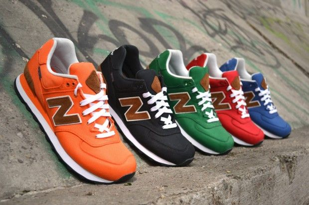 "New Balance 2012 Fall M574 ""Backpack"" Collection 