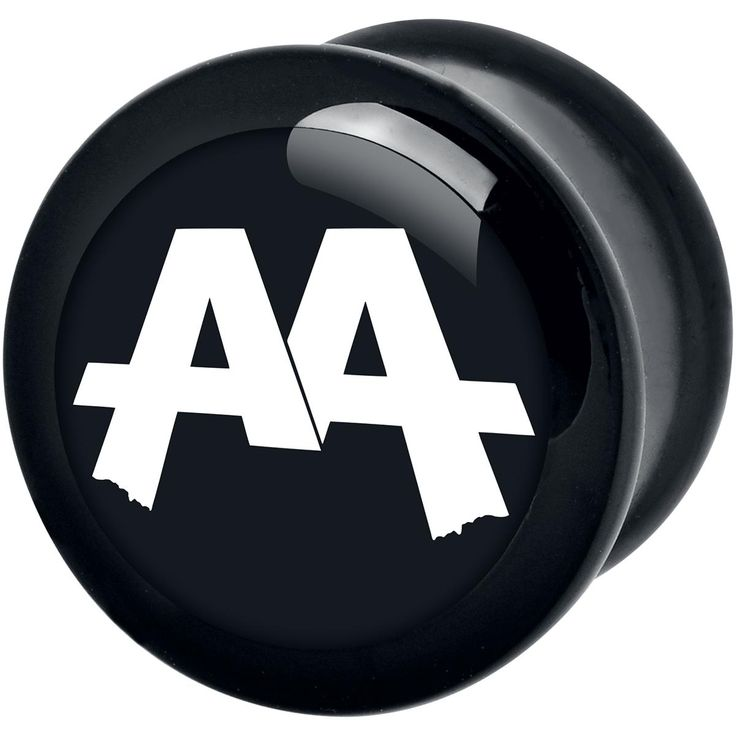 Black Logo Plug of Asking Alexandria: - exclusive to EMP! - white 'Asking Alexandria' logo on a black background - made of high-quality and lightweight PMMA plastic - skin-friendly - suitable for allergy sufferers If you're a metal fan and looking for a simple plug without much fuss, this nifty piece of jewellery could be the right thing for you. On the black plug the logo of the band 'Asking Alexandria' is placed in white capital letters - a real eye-catcher, which should be in ever...