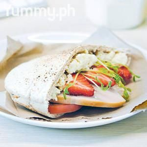 with Ricotta, Tomatoes, and Strawberry Dressing | ~~ Yummy Sandwiches ...