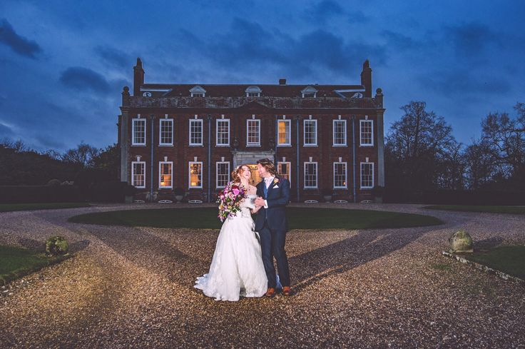 The perfect end to a perefct day at Belchamp Hall; a church wedding venue near…