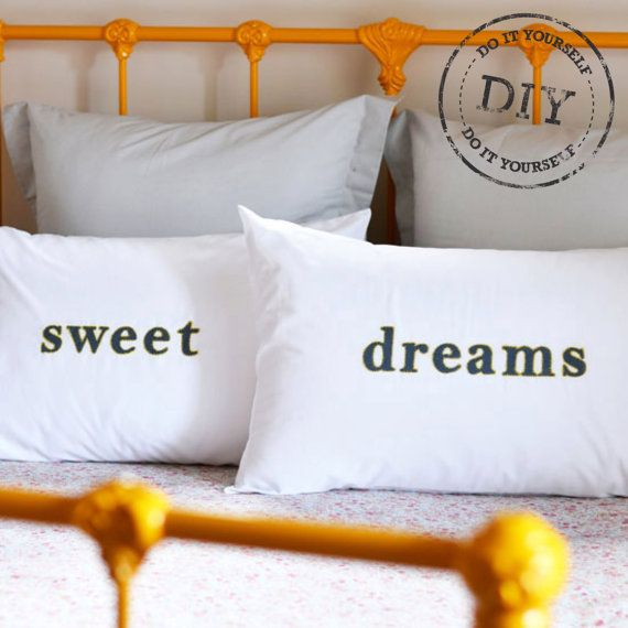 Urban Crafter Typographic Pillowcases DIY Kit