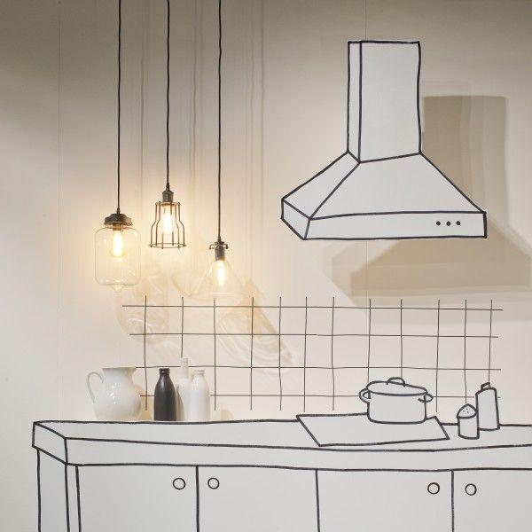 It's about Romi Kiev hanglamp. In de keuken, boven de eetkamertafel of in de woonkamer kan deze lamp stralen! #ItsAboutRoMi #verlichting #lampen #hanglamp #design #Flinders