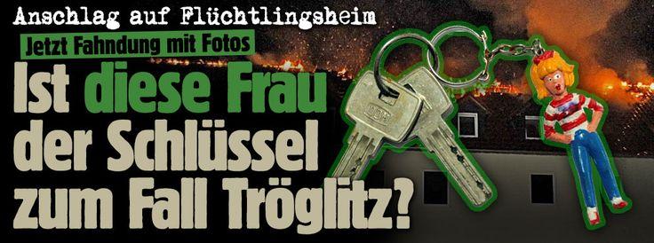 Jetzt Fahndung mit Fotos: Ist diese Frau der Schlüssel zum Fall Tröglitz? http://www.bild.de/regional/leipzig/fahndungsfoto/polizei-fahndet-mit-foto-nach-troeglitz-brandstifter-40705364.bild.html