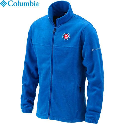 Chicago Cubs Flanker Fleece Jacket by Columbia Sportswear-Royal