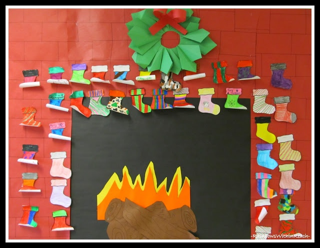 Christmas Season Bulletin Boards