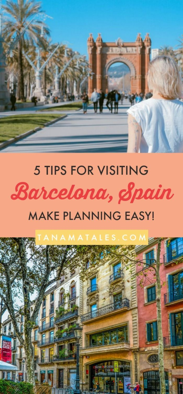 Things to do in #Barcelona – With so much to see and do in Barcelona, here are five tips for visiting the city whether you're a frequent visitor or a first-time visitor. #Spain #Food #Beach #Architecture