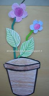 vaso di margherite