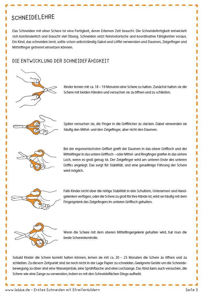 Erstes Schneiden mit Streifenbildern PDF