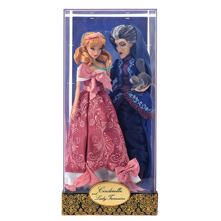 Coming September 6, 2016 Cinderella & Lady Tremaine Disney Designer Dolls.