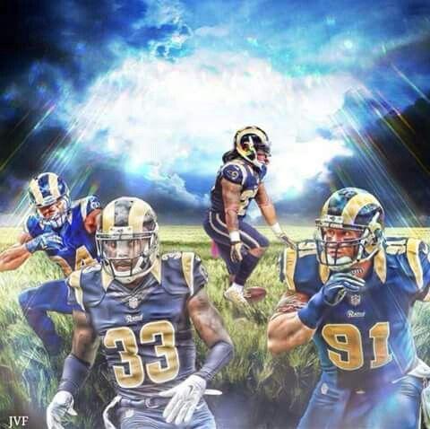 La Rams St Louis Los Angeles