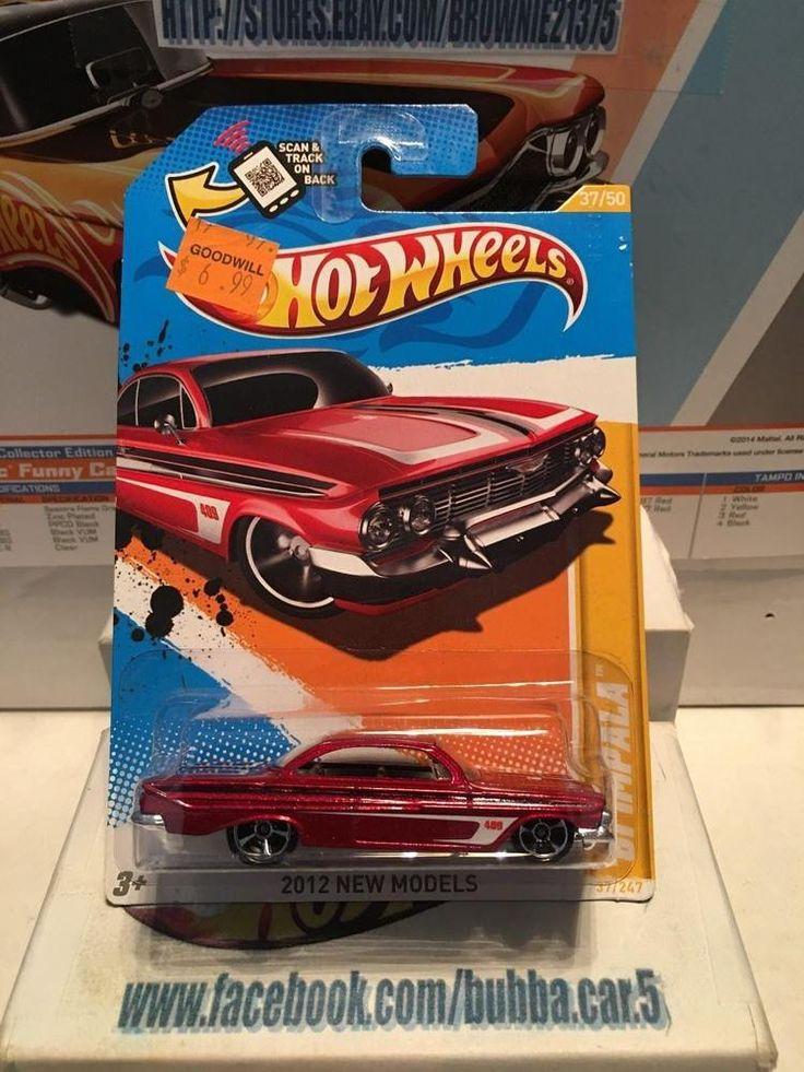Hot Wheels 2012 NEW MODELS '61 IMPALA #HotWheels #Chevrolet