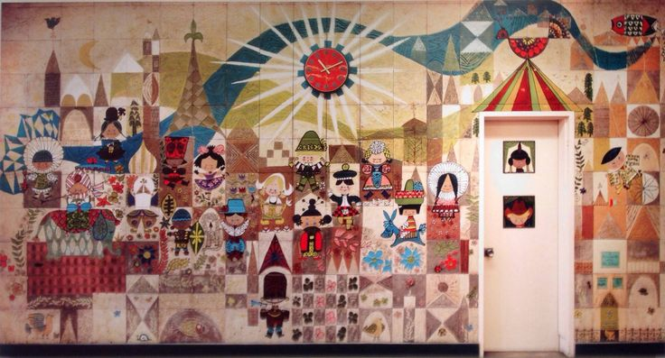 61 best images about mary blair on pinterest disney for Crossing the shallows tile mural