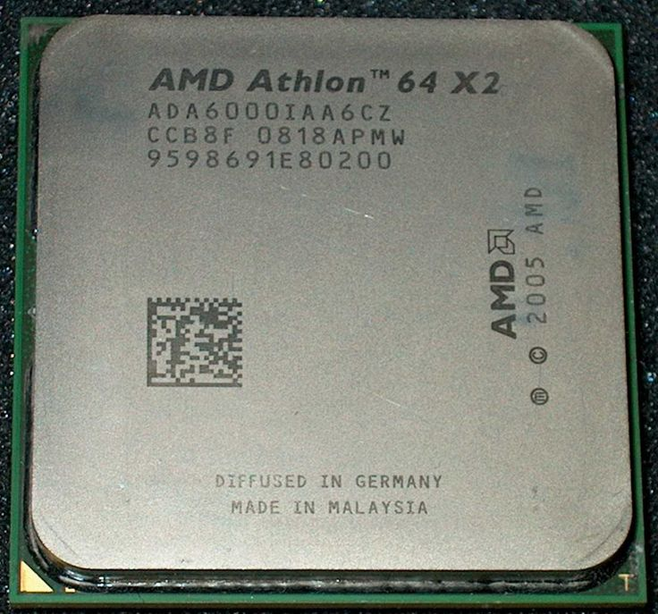 AMD Athlon 64 X 2 6000 3GHz Dual-Core Processor ADA6000IAA6CZ Socket AM2