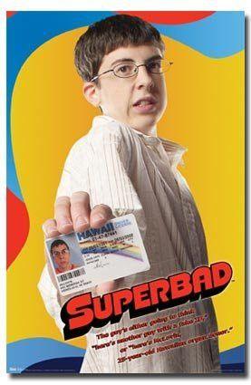 SUPERBAD MOVIE POSTER McLovin RARE HOT NEW 24X36