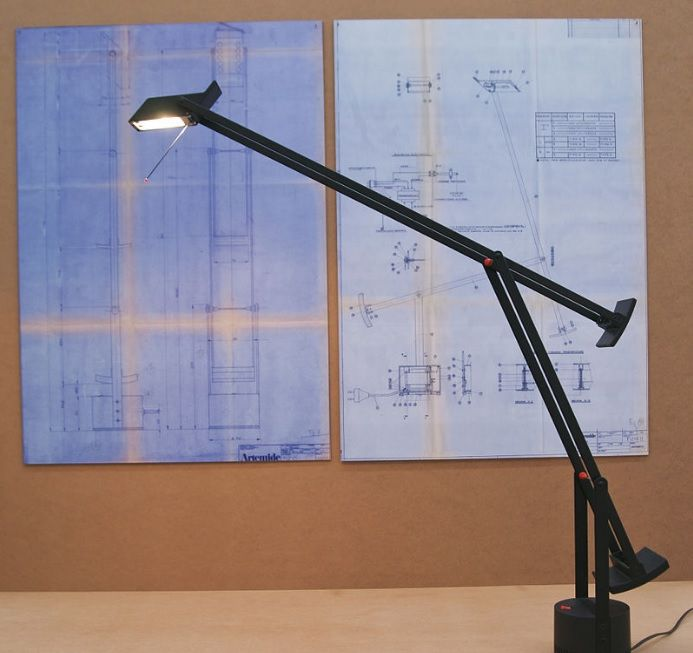 A Modern Classic: the TIZIO Task Lamp by Richard Sapper (1972) for Artemide.