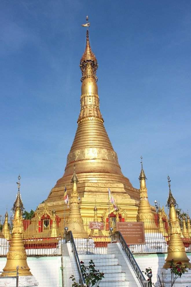 Kangyi Pagoda | Exotic Mawlamyine and Understanding the Death Railway | The World on my Necklace