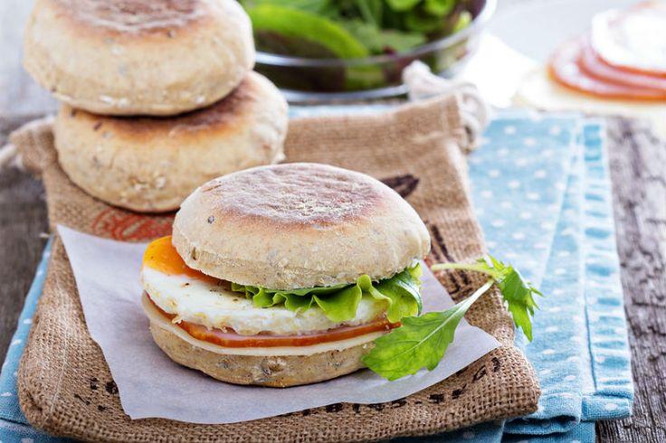 Eat Right Ontario - Rise & Shine Breakfast Sandwich