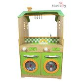 Found it at Wayfair Supply - Play Kitchen with Dual Washers Set