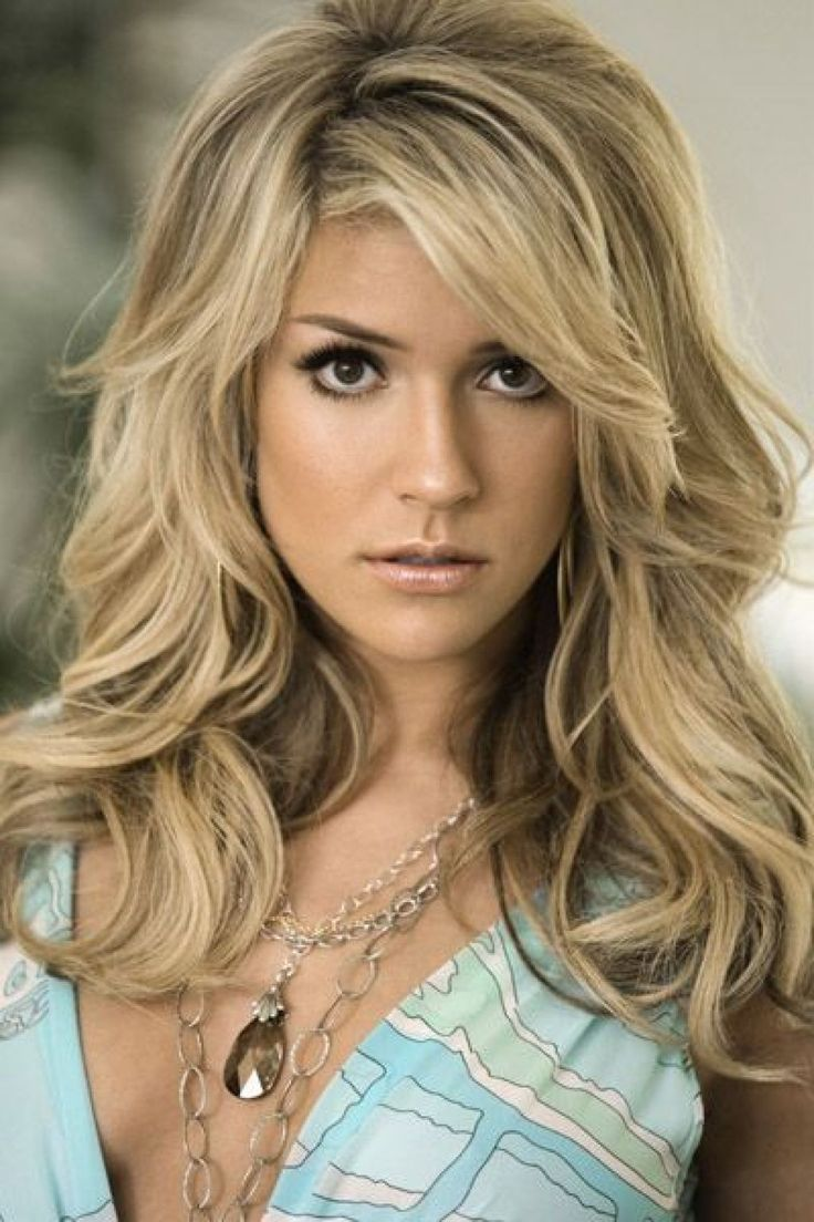 Image is part of v shaped hairstyle pictureslong layered haircuts - Long Wavy Hairstyle For Diamond Shaped Face Hairstyles