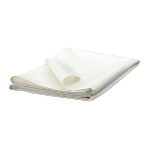 LEN Mattress protector IKEA Waterproof backing provides protection for the mattress. Suitable for both crib and bed.