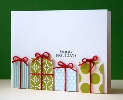 MORE Easy Handmade Christmas Card Ideas