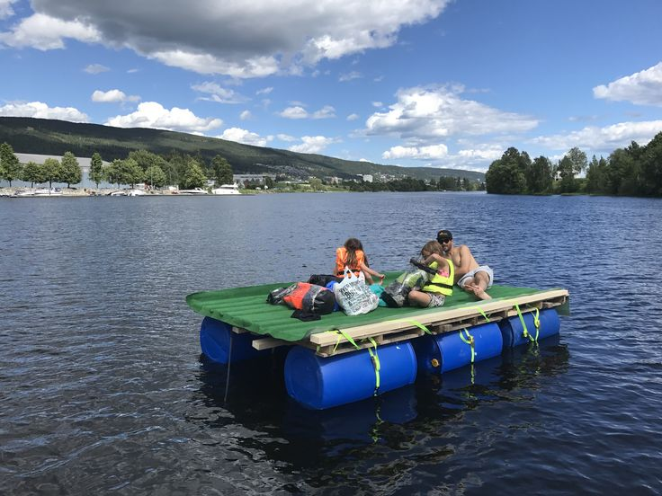#floatmode on a collapsible raft from Hokksund to Drammen