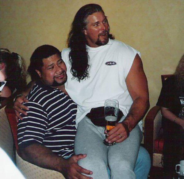 kevin nash amp meng batista n other wrestlers pinterest