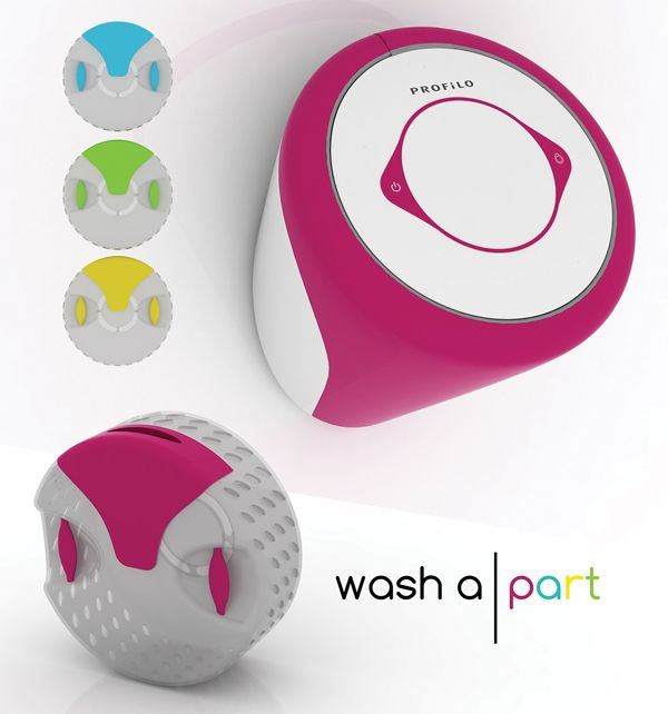 A small washing machine for apartments without the connections!! I so need this!! Washa|part - Washing Machine by Buse Üstün & Fulya Pekserbes