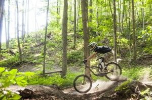 Traverse City is a Mountain Biker's Paradise