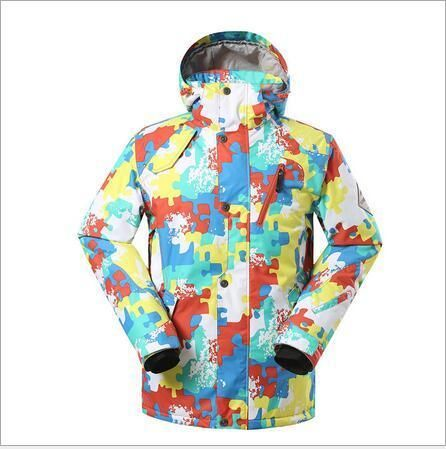 cb536aca8c Bring the warmth this winter with this GSOU Snow Warm Ski Snowboard Jacket.  Step up your skiing outfit with the color and comfort this men s jacket  brings.
