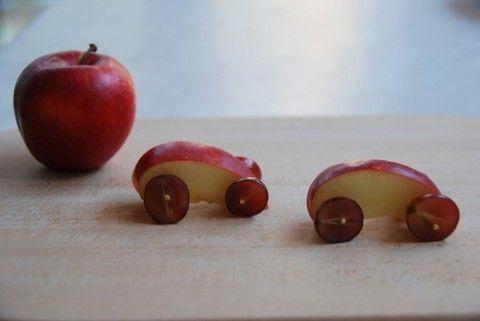 Traktatie: appelautootjes » Homemade Happiness - Knutsel zelf de leukste kinderfeestjes! Kant en klare KnipBoeken en printbare knipvellen