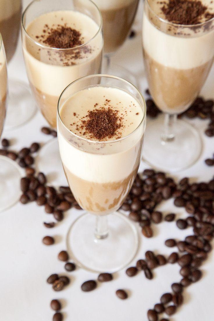 Vanilla - Coffee Panna Cotta