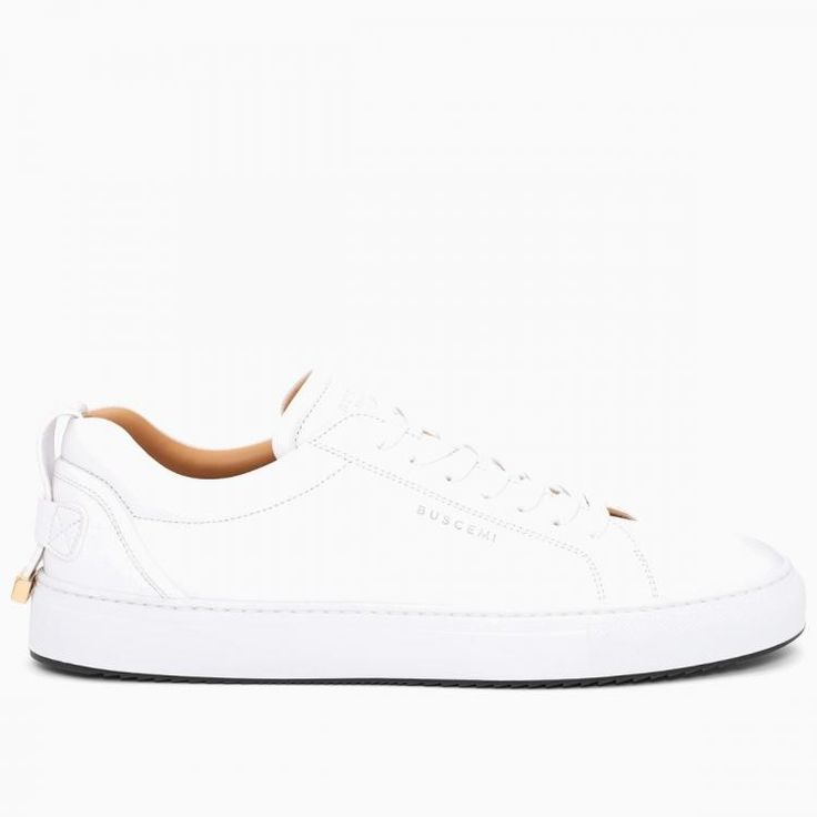 Buscemi Men's lyndon White Sneakers #men #fashion #blackfriday #sneakers #shoes #buscemi #lifestyle