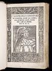 1529 DANTE Convivio ITALIAN Medieval PHILOSOPHY Love SCIENCE Poetry p-Incunable