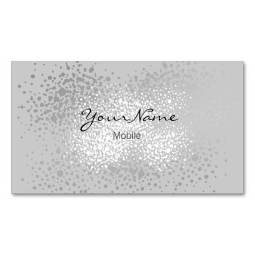 1000 images about Glitter Sparkle Business Cards on Pinterest