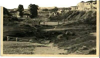 1935 - Rua Itororó (atual avenida 23 de Maio).